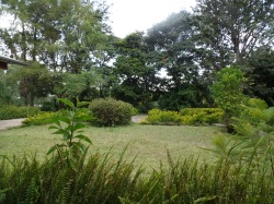 The beautiful grounds of the conference center